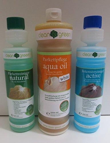 haro-pflegeset-clean-green-natural-active-und-aqua-oil-weiss-clean-and-green-set-by-geizhaus24