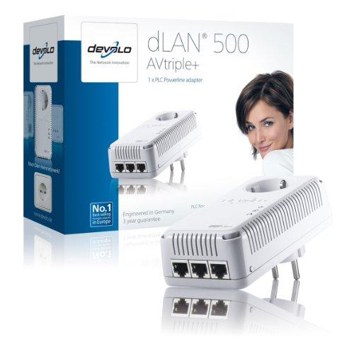 Devolo dLAN 500 AVtriple+ Adapter