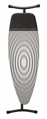 Brabantia Titan Oval Ironing Board, Size D,135 x 45 cm - with Iron Parking Zone