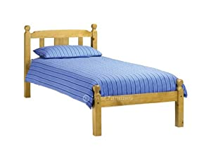 Ellie Traditional Style Pine Wooden Bed Frame bed Bedroom