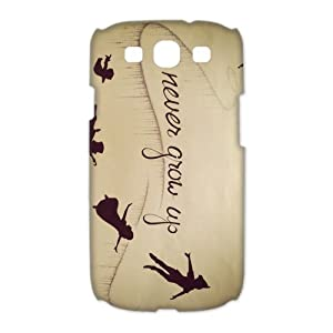 Peter Pan Samsung Galaxy S3 Case Flying Peter Pan Shadow Never Grow Up Galaxy S3 Durable Artsy Cases Cover