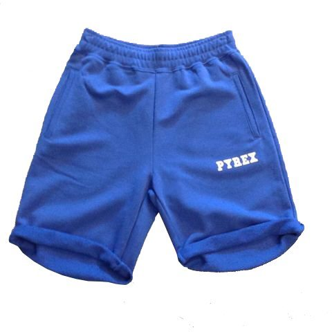 PYREX - Shorts da uomo over 28902 (S, ROYAL)