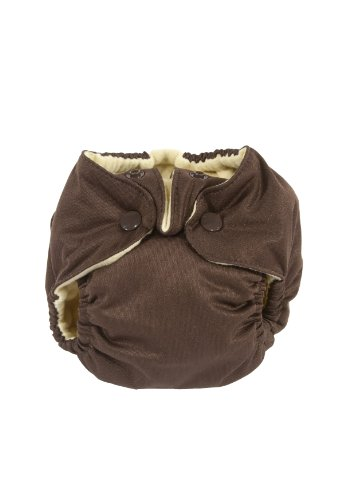 Kissa'S Newborn All-In-One Diaper, Chocolate front-171035