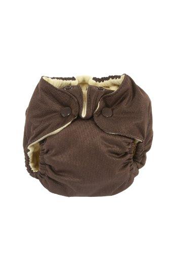 Kissa'S Newborn All-In-One Diaper, Chocolate front-171035