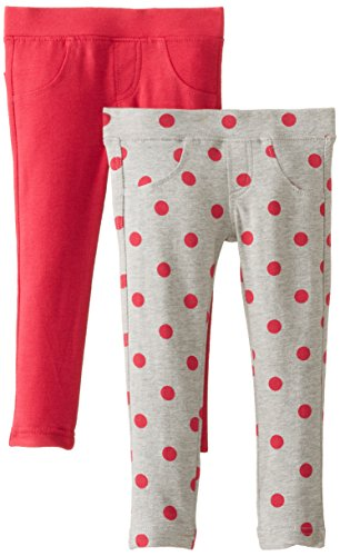 Freestyle Revolution Little Girls' Polka Dot French Terry Jegging Set, Multi, 6 front-651049
