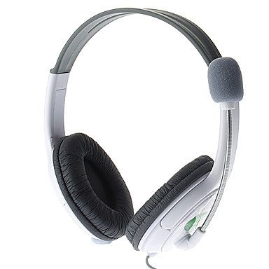 Limme Xb3028 Fashion Super-Bass Headphones With Mic For Microsoft Xbox,360 Live