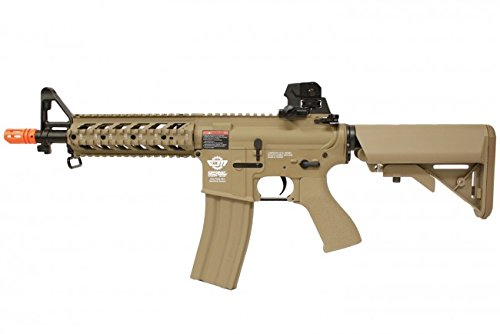 combat machine m4 raider shorty w/ polymer ris (tan/cqb) (battery and charger package)(Airsoft Gun) (Combat Machine M4 compare prices)
