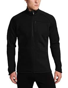 Icebreaker Men's Kodiak Zip Jacket (Black, Large)