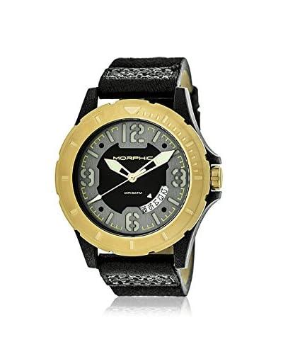 Morphic Men's MPH4704 M47 Series Black Canvas Watch