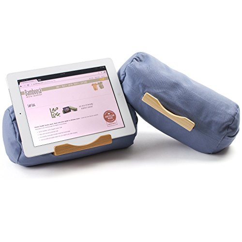 Lap Log - iPad Pillow - Good for Reading in Bed - Top Rated on Amazon - Made in the USA - Ocean ...