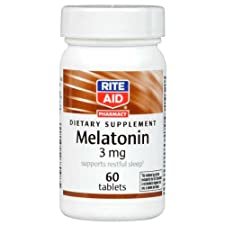 Rite Aid Melatonin, 3 MG 60 ct.