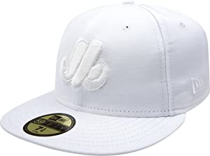 MLB Montreal Expos Cooperstown White on White 59FIFTY Fitted Cap by New Era