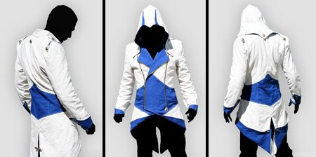 Assassin's Creed III Conner Kenway Casual Red Jacket Cosplay Costume COS91
