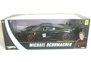Ferrari FXX Michael Schumacher Elite Diecast Car 1:18 No.30 from Hot Wheels