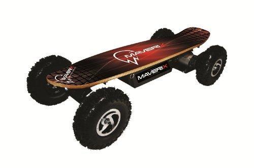 Maverix Maverix BorderX 800W電動スケートボード、レッド UA-0461 G-HOUSE(ジーハウス)オリジナルグッズ付