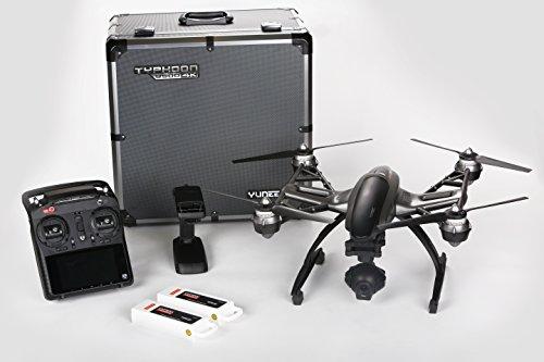 Yuneec Q500 4K Typhoon Quadcopter Drone RTF in Aluminum Case