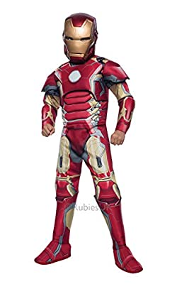 Iron Man Deluxe - Avengers Age of Ultron - Childrens Fancy Dress Costume