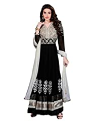 Zohraa Black Faux Georgette Anarkali Suit - Z1723P502-16