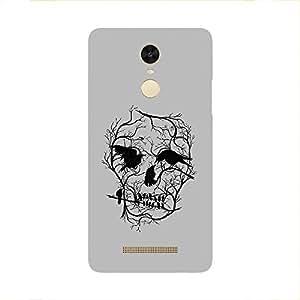 Back cover for Redmi Note 3 Skull tree bird