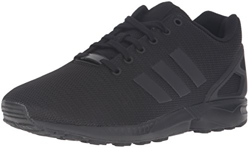 Adidas Originals Men's ZX Flux Fashion Sneaker, Black/Black/Dark Shale, 9 M US