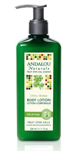 Andalou Naturals Verbena Uplifting Body Lotion, Citrus, 11 Ounce