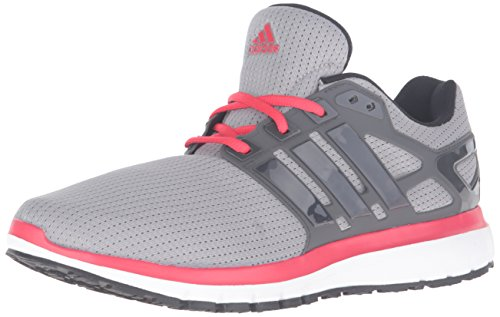adidas Performance Men's Energy Cloud Wtc M Running Shoe, Mgh Solid Grey/Dark Shale/Ray Red Fabric, 7 M US