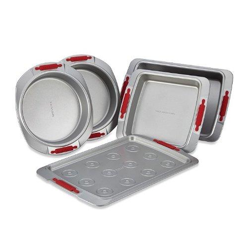 Cake Boss Deluxe Non-Stick Bakeware 5-Piece Bakeware Set