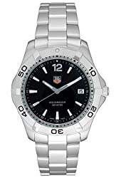 TAG Heuer Men's WAF1110.BA0800 2000 Aquaracer Quartz Watch