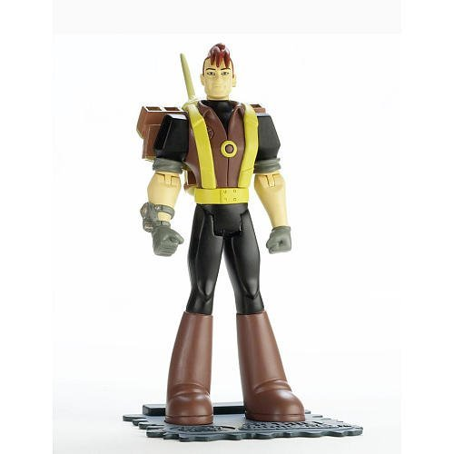 The Secret Saturdays Action Figure Doyle with Jet Pack