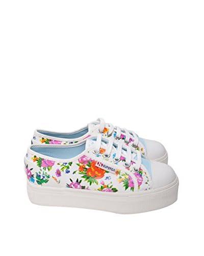 Ops Sneaker Flower Alte [Celeste]