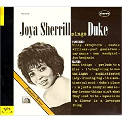 Featured recording Joya Serrill Sings Duke