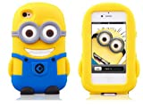New Despicable Me 2 Minion Soft Silicone Case for Apple iPhone 5 - Dave