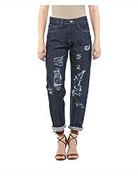 Yepme Women's Blue Cotton Jeans - YPWJEAN5155_30