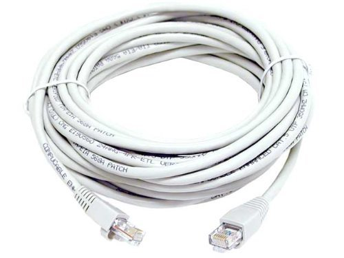 100FT CAT5 CAT5e RJ45 PATCH ETHERNET NETWORK CABLE 100 FT WHITE100FT CAT5 CAT5e RJ45 PATCH ETHERNET NETWORK CABLE 100 FT WHITE