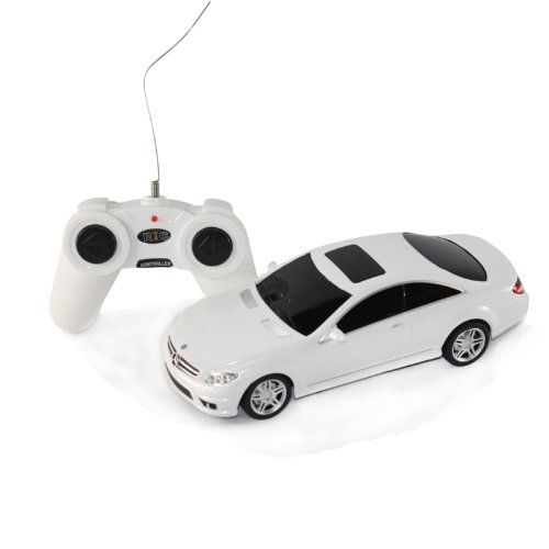 Scale: 1:24 Mercedes-Benz CL63 AMG Radio Remote Control Model Car R/C RTR (Colors Vary) Black, Silver, or White