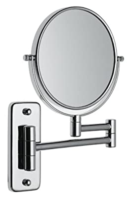 Best Cheap Deal for Jerdon JP7508C 6-Inch Wall Mount Makeup Mirror with 5x Magnification, Chrome Finish by Jerdon - Free 2 Day Shipping Available