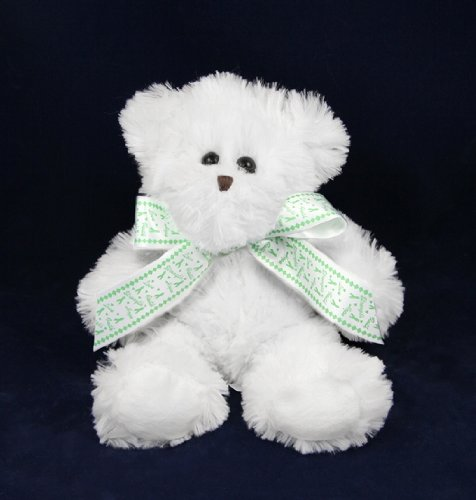 Green Ribbon Awareness Teddy Bears (12 Teddy