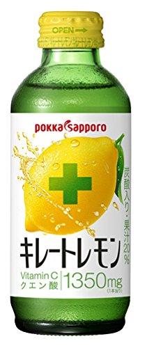 ポッカサッポロ キレートレモン 155ml×24本