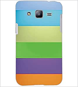 PrintDhaba Pattern D-5367 Back Case Cover for SAMSUNG GALAXY J2 (Multi-Coloured)