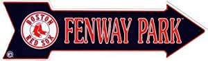 Boston Red Sox Fenway Park Arrow Sports Sign