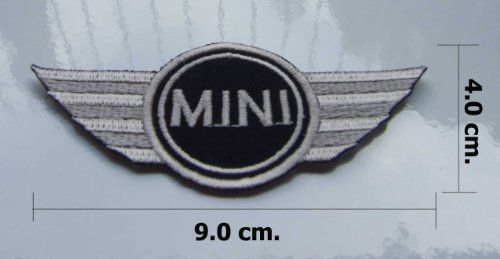 Cheap MINI COOPER EMBROIDERED IRON ON PATCH.