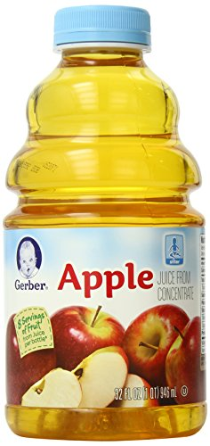 Gerber Apple Juice, 32-Ounce Bottles (Pack of 6) (Baby Apple Juice compare prices)