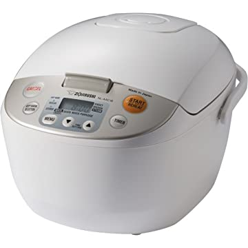 Zojirushi NL-AAC18 Micom 10-cup Rice Cooker and Warmer