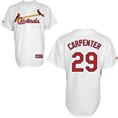 Matt Carpenter St Louis Cardinals Home Replica Jersey by Majestic by Majestic