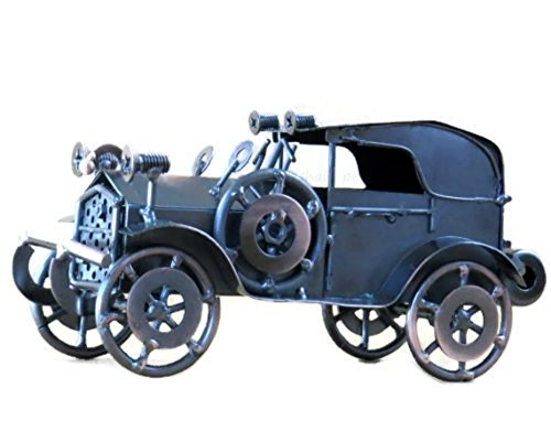 Collectible Figurine-Classic Die Cast Scrap Metal Ambassador Model Vehicle Collectible Sculpture with Copper Finish