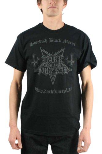Dark Funeral -  T-shirt - Uomo nero X-Large