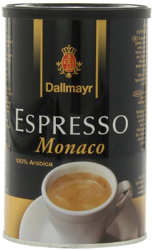 Dallmayr Gourmet Coffee, Espresso Monaco (Ground),