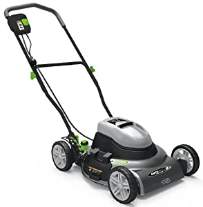 Earthwise 50218 18-Inch 12 Amp Side Discharge/Mulching Electric Lawn Mower from Earthwise