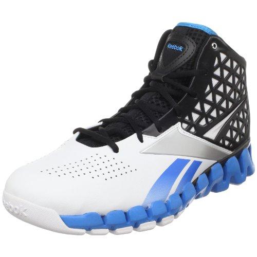 Reebok Men's ZigSlash Basketball Shoe,Malibu Blue/Black/White/Steel,9 M US