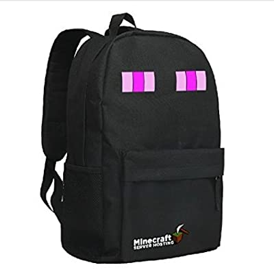 Minecraft Creeper Backpack Black 1#